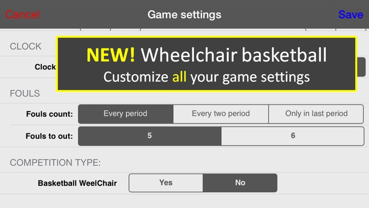 LetsBasket+ [Your Hoop Stats and Score Book, Scoreboard, Timer and Scouting for coach & parents]