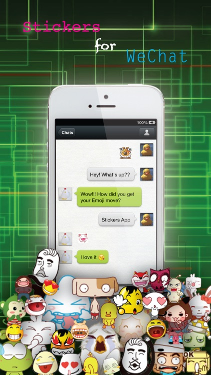 Stickers Pro for Messages, WeChat & More - Emoji Keyboard with Pop Emojis & Emoticons icons - Animation Emojis screenshot-3