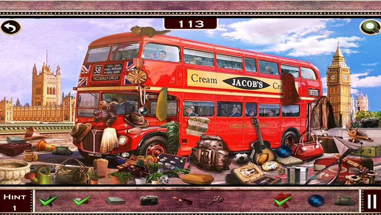 Hidden Objects-