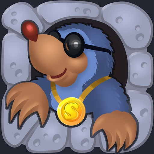 Moly Mole - solve puzzles with a blind hero