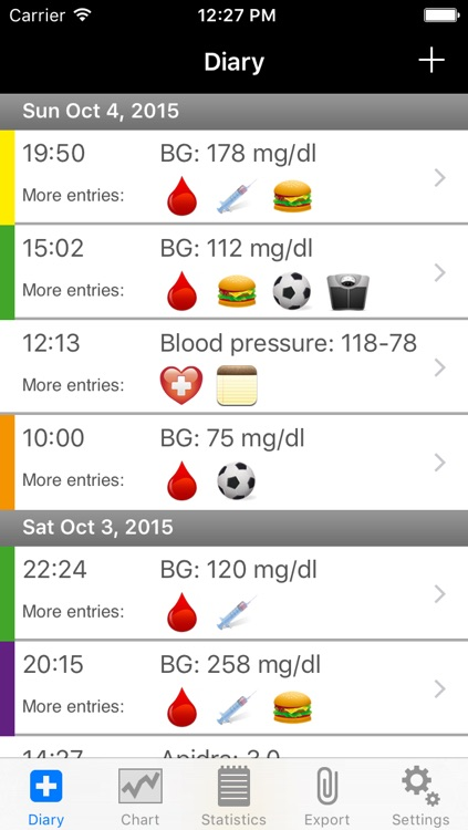 DiabetesPlus screenshot-0