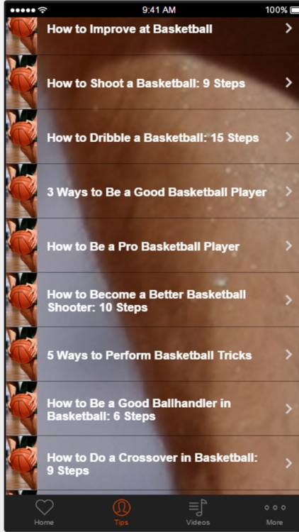 Basketball Tips and Strategies - Learn How to Improve Basketball Skills screenshot-1