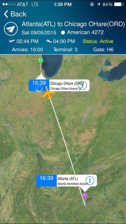 Chicago O'Hare Airport (ORD) Flight Tracker Radar