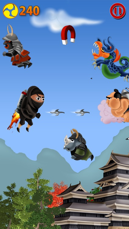 Jetpack Ninjas screenshot-3