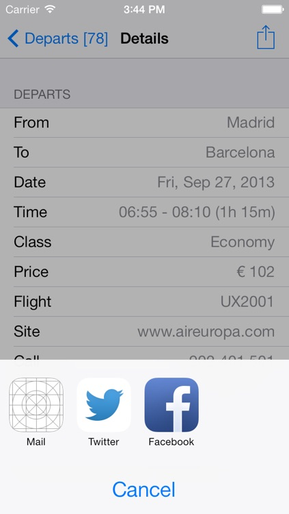 Spain Flight screenshot-3