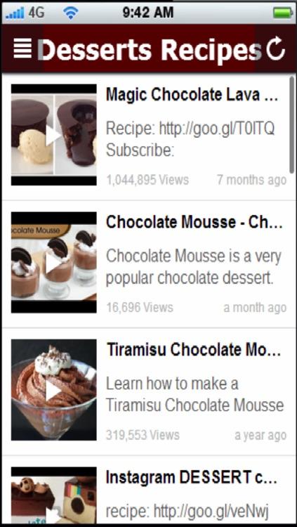 Dessert Recipes: Quick and Easy Desserts Recipes screenshot-3