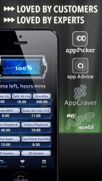 Battery Life Magic, free screenshot-3