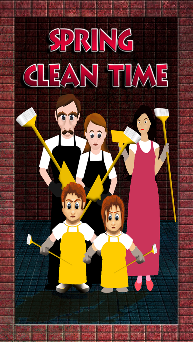 Spring Cleaning Time : Jump to Get Out of the Dirty Basement -