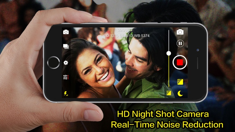 NightShot Pro - Night Shoot Artifact with Video Noise Reduction