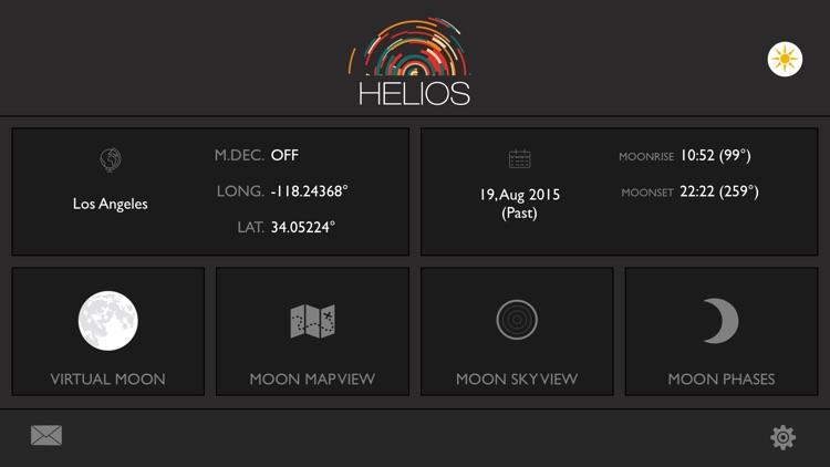 Helios Sun and Moon Position Calculator