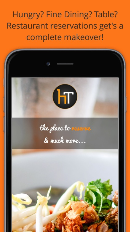 Hungrytable - Find and Reserve Restaurants, Get Deals and Menus on the go