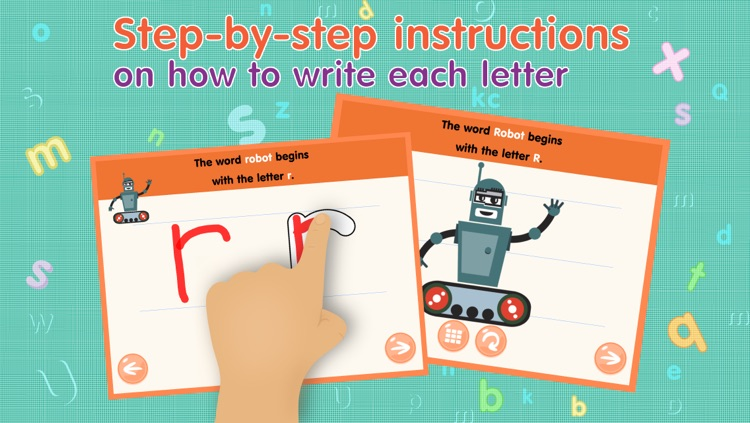 Kids Academy • Learn ABC alphabet tracing and phonics. Montessori education method.