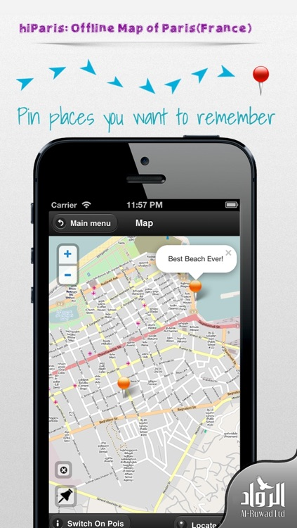 hiParis: Offline Map of Paris (France) screenshot-1