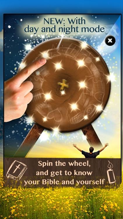 Bible Wheel - Random Quotes & Teachings of Wisdom