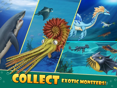 Скачать игру Sea Monster City - Monsters evolution & battle games
