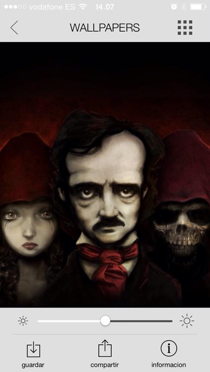 Edgar Allan Poe - Wallpapers