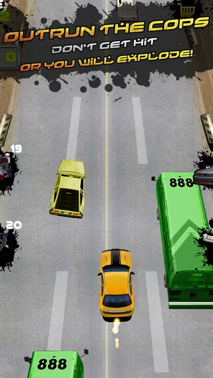Police Escape Outlaw Racer Free screenshot-1