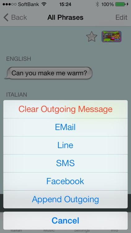 Italian - Talking English to Italian Translator and Phrasebook screenshot-4