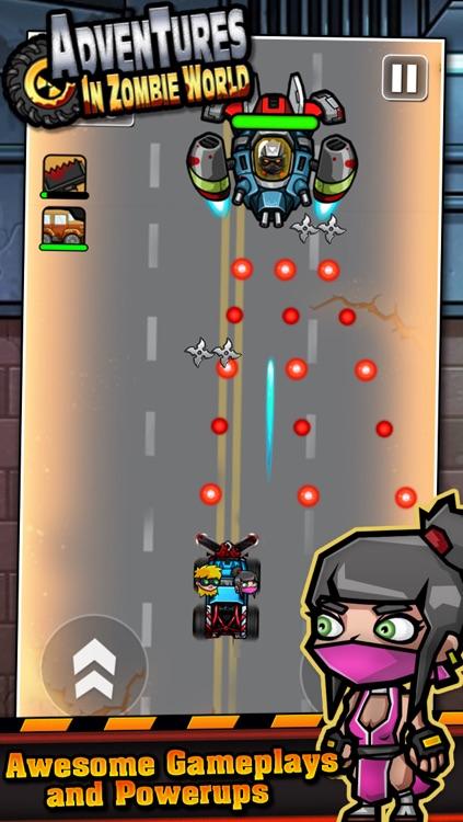Adventures in Zombie World – Multiplayer Car Racing screenshot-4