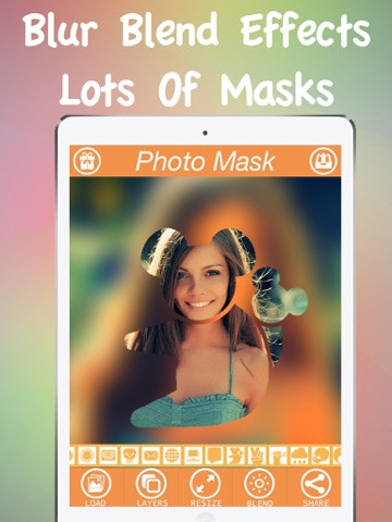 Photo Mask Pro - Mask Layer Effects On Camera Photos-ipad-1