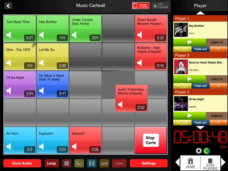 Instant Audio Studio Cartwall Pro For iPad