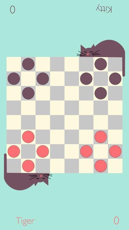 Dot strike - unique hybrid of checkers and billiard screenshot-0