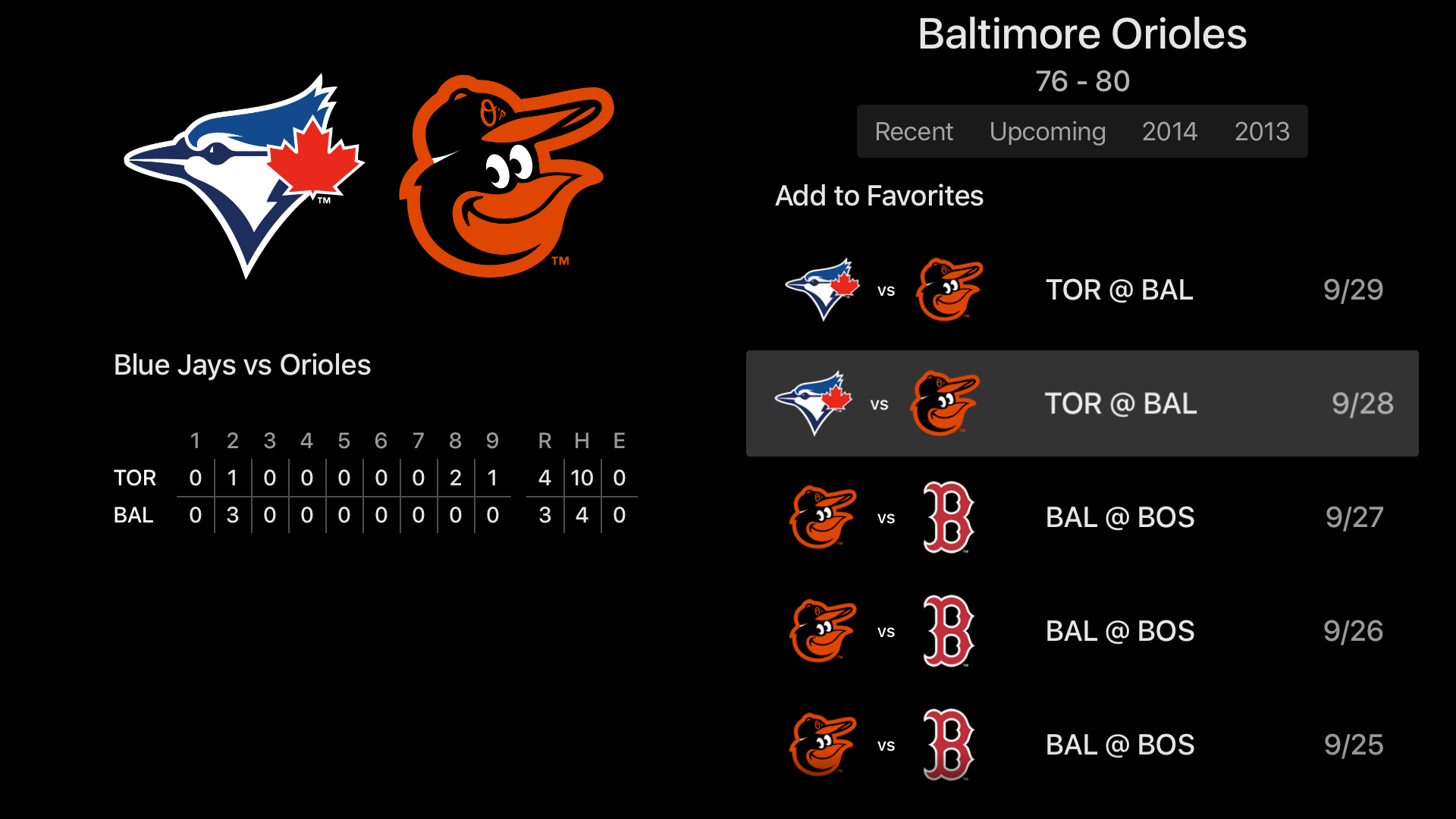MLB At Bat screenshot 19