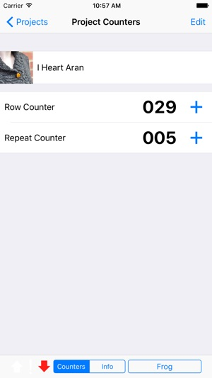 Knitting Row Counter App : Knit counter on the app store