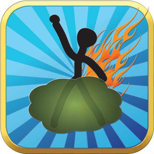 Farting doodle stickman game free