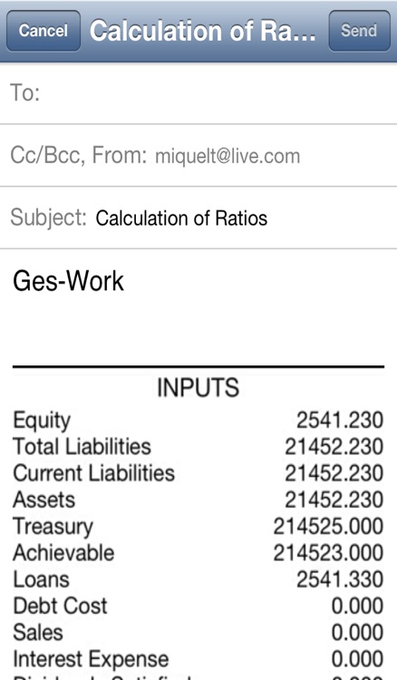 Ratios Calculator screenshot-3