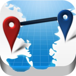 AtoB Distance Calculator Free - easy and fast air or car route measurement from A to B for travel and more