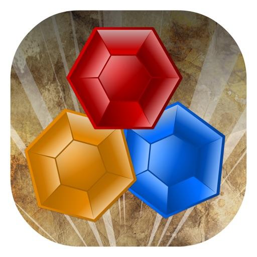 Сумасшедший камней блиц-матча три многопользовательские социальной подключения головоломки игры