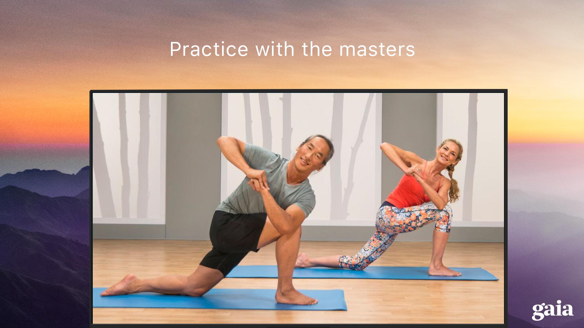 Gaia TV Discover Mindful Yoga screenshot 17