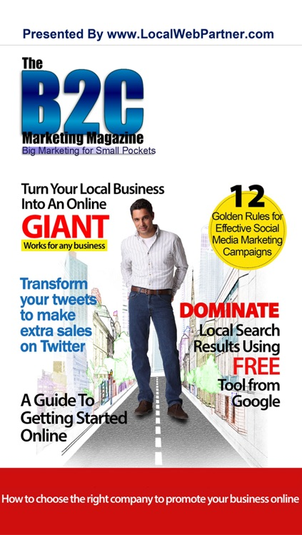 B2C Marketing Magazine - Big Marketing for Small Pockets