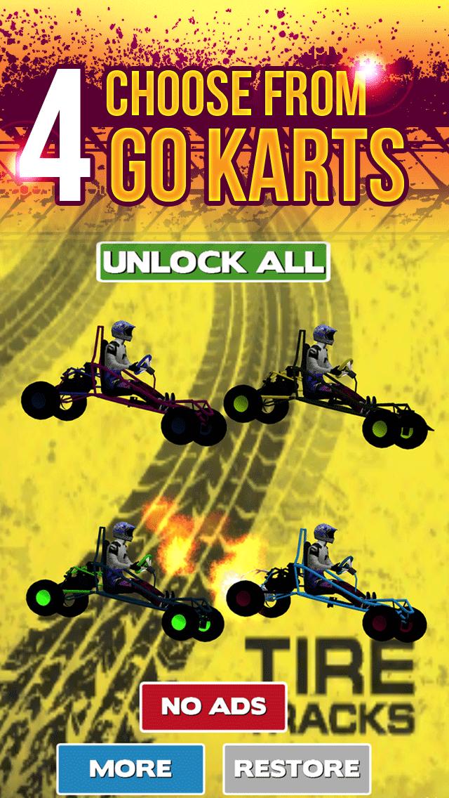 3Dゴーカート·レーシングの狂気によってストリートドライビング無料十代の若者たちのシミュレータゲームをエスケープのおすすめ画像4
