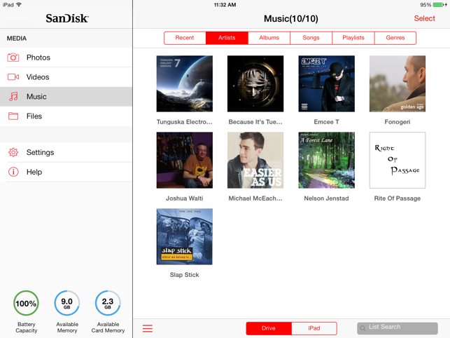 SanDisk Connect™ Wireless Media Drive HD on the App Store
