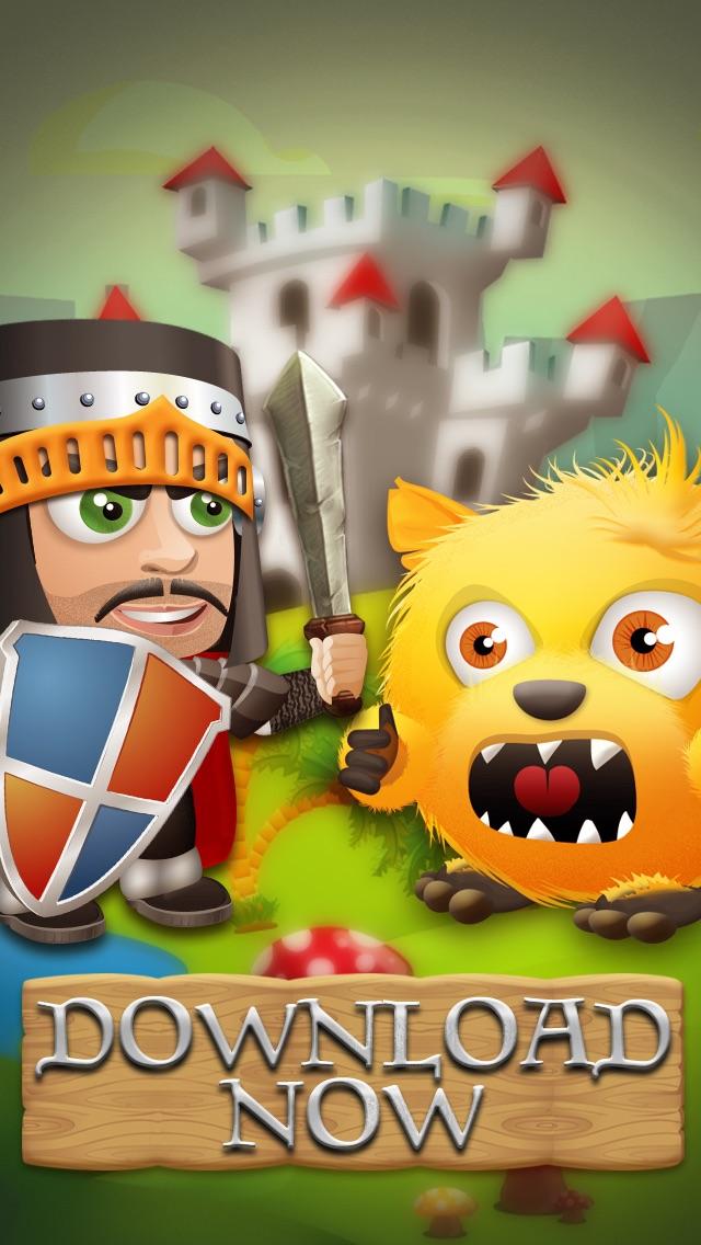 不器用なモンスタークルーVSミニポケットコンボ十字軍の戦士 - フリーゲーム Mini Pocket Combo Crusade Warriors vs the Clumsy Monsters Crew - FREE Gameのおすすめ画像1