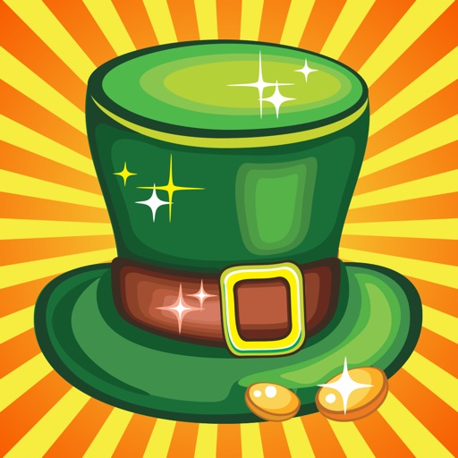 A St. Patty's Leprechaun Match-3 Puzzle Game: Lucky Pot-o-Gold Edition - FREE