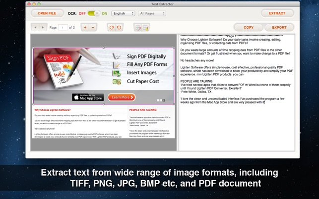‎Text Extractor - Extract text from PDF & Image with OCR