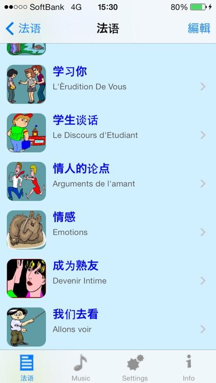 法语 - Talking Chinese to French Phrase Book