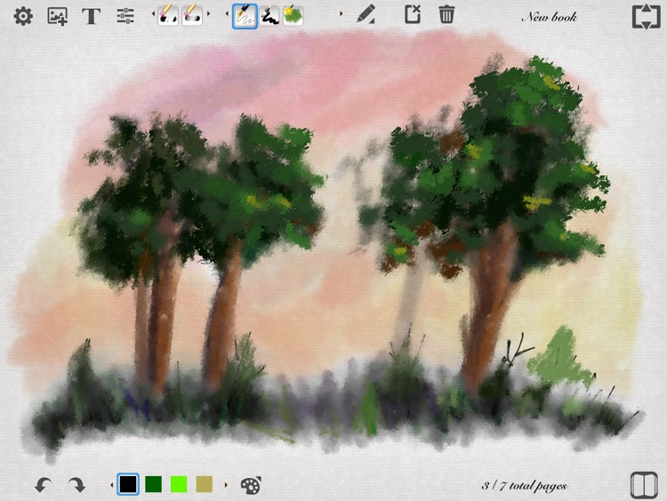 My Sketch Paper - Write, Paint on Notebook screenshot-2