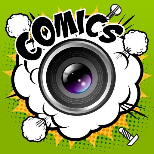 Manga Comics Camera