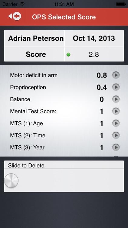 Orpington Prognostic Scale screenshot-4