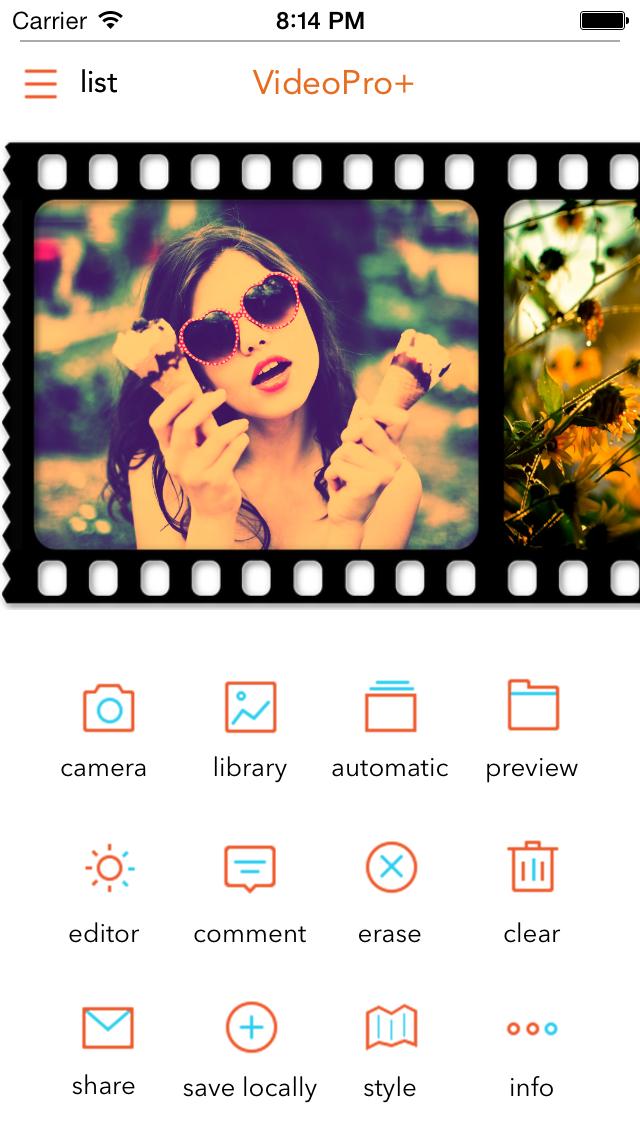 VideoPro+ Screenshots