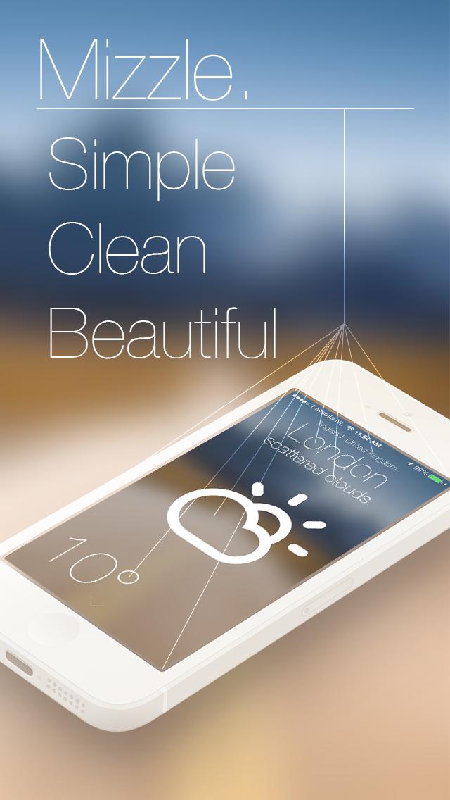 Mizzle: The Weather Appのおすすめ画像1