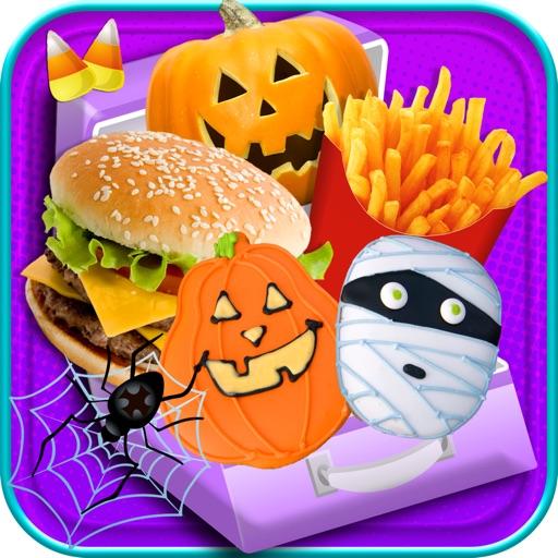 Halloween School Lunch Maker - Kids Food Maker FREE