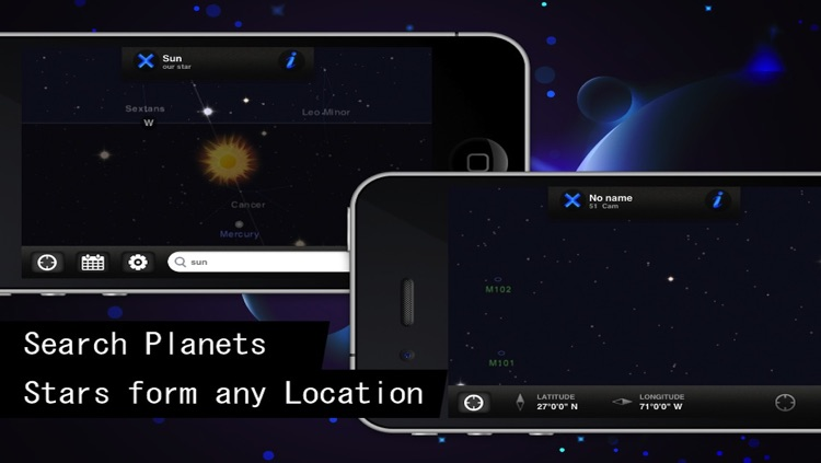 Star Guide: View Star Tracker