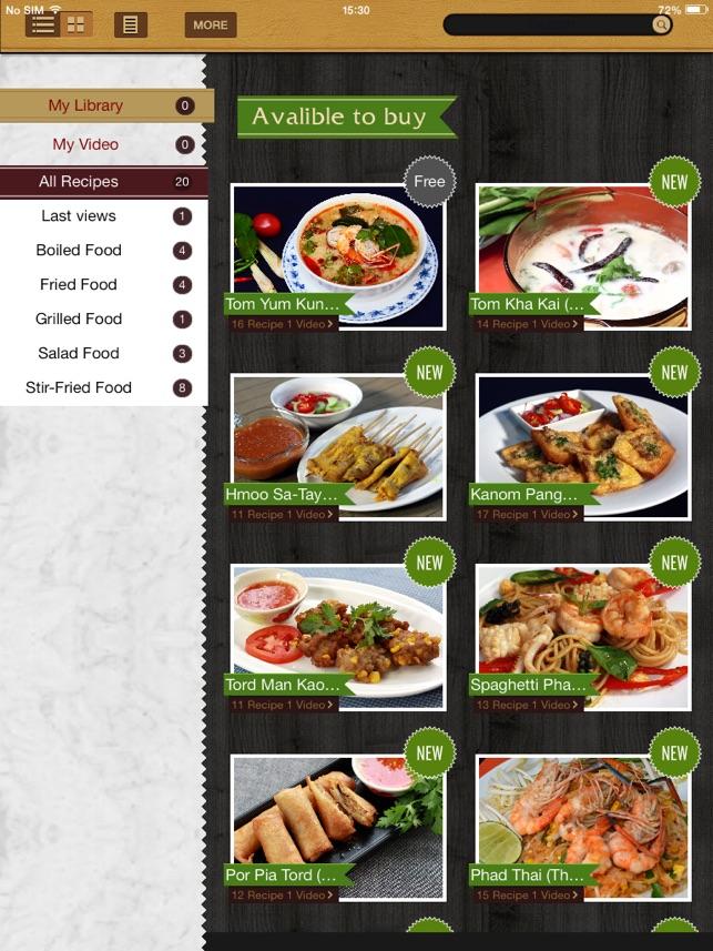 Thai cooking recipes en app store capturas de pantalla del ipad forumfinder Gallery