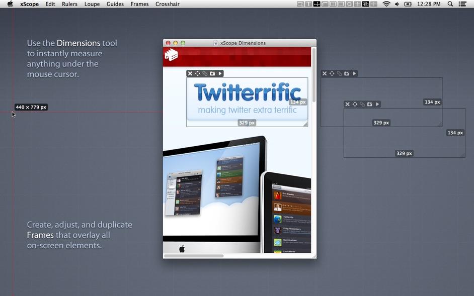 xScope 4 3 3 – Onscreen graphic measurement tools | macOS | NMac Ked