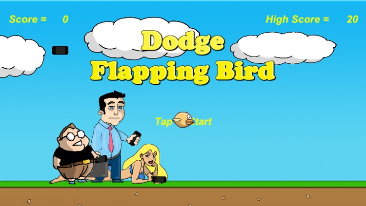Dodge Flapping Bird